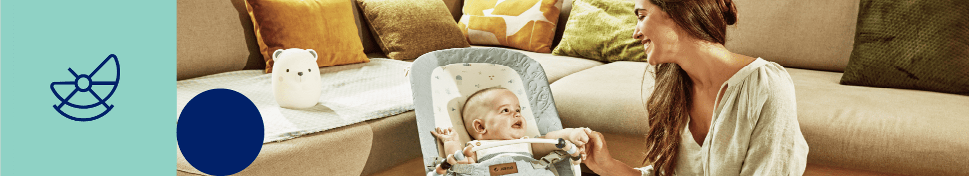 Sdraiette Jané | Le migliori sdraiette e i migliori dondolini per bambini | Jané